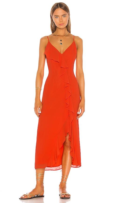 x REVOLVE Grace Midi Dress