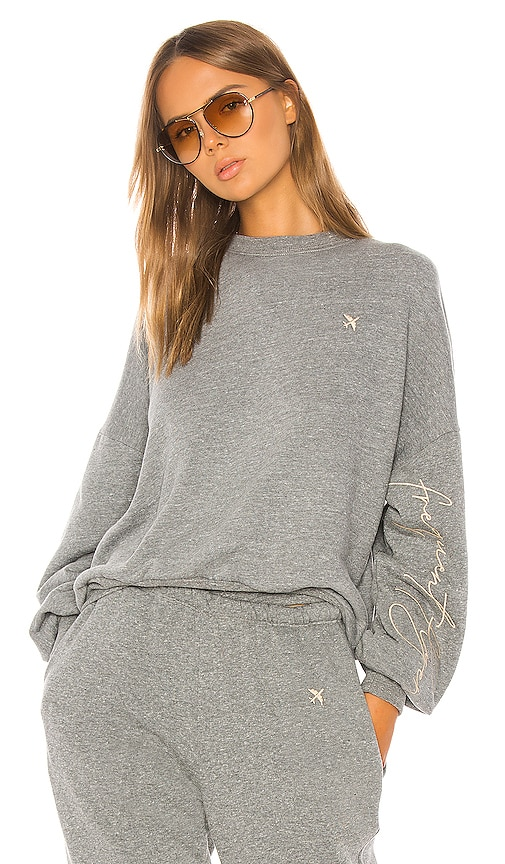 X Revolve Frequent Flyer Sweatshirt by Shaycation
