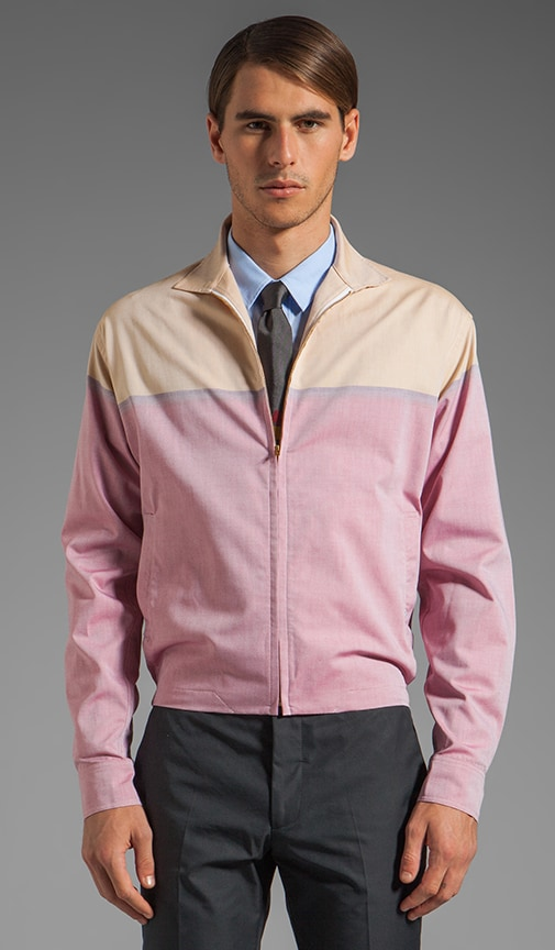 Zippered Shirt Jacket
