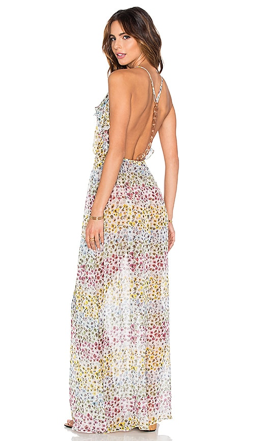 Sinesia Karol Juliana Maxi Dress in White