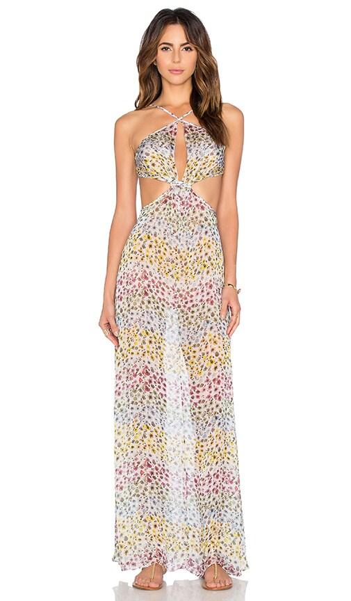 Sinesia Karol Avory Maxi Dress in Colorful Flowers