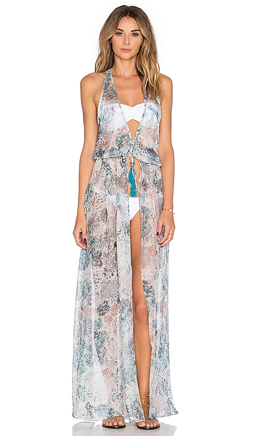 Sinesia Karol Cassia Maxi Dress in Blue