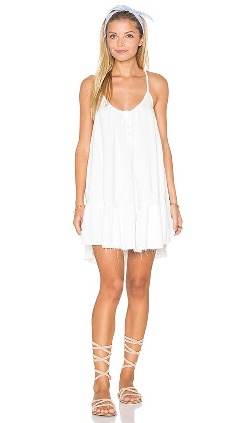Sincerely Jules Rosa Cross Strap Dress in White