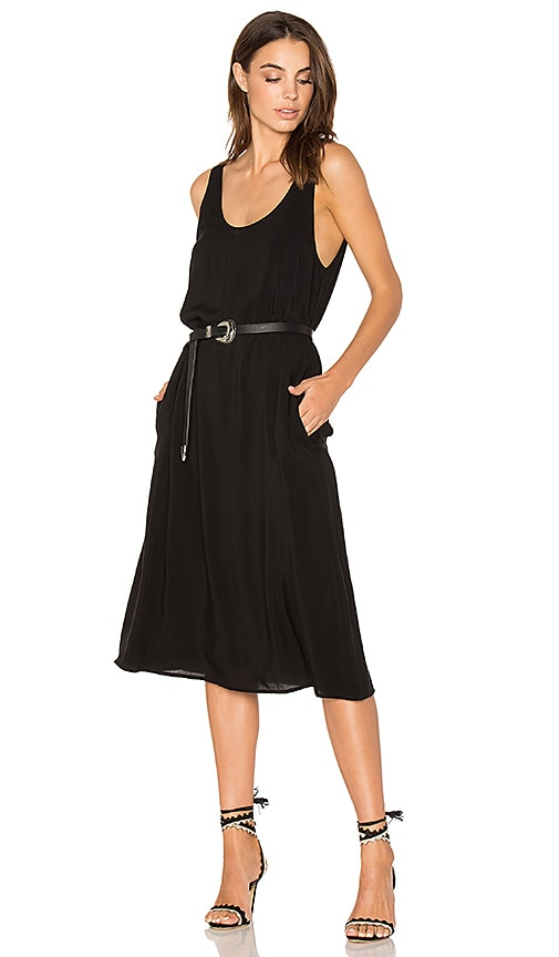 Sincerely Jules Perfect Slip Dress in Black