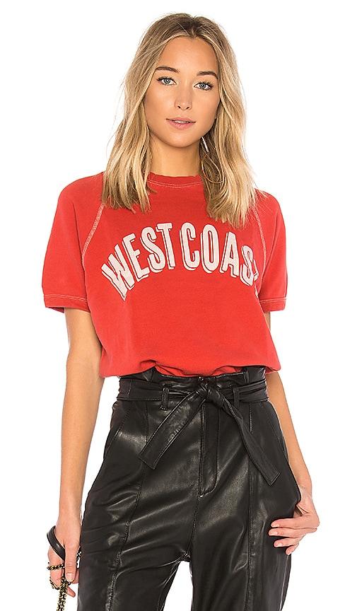 Sincerely Jules West Coast Sweatshirt in Red