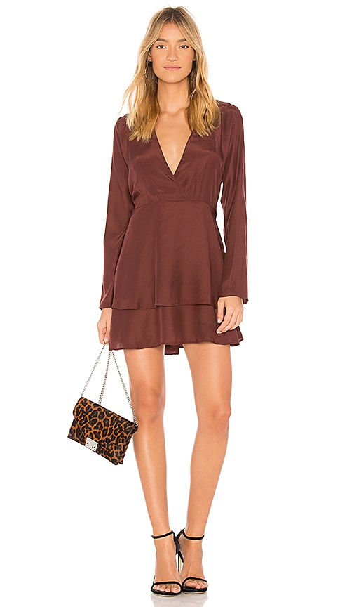 02d1e3f28691 SIR the label Adeline Dress in Plum | REVOLVE