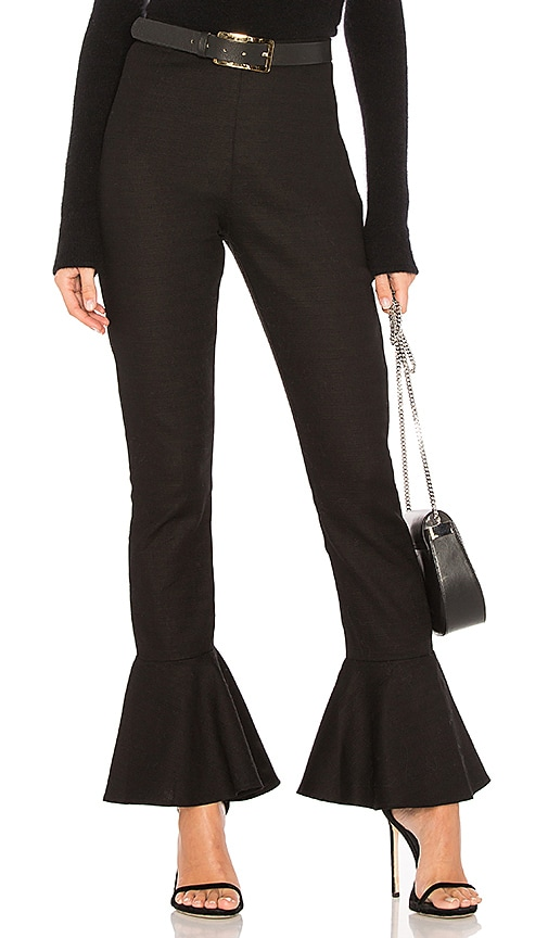 SIR the label Lucia Flare Pant in Black