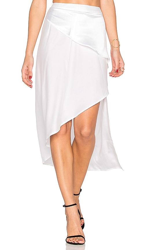 white side zipper skirt revolve