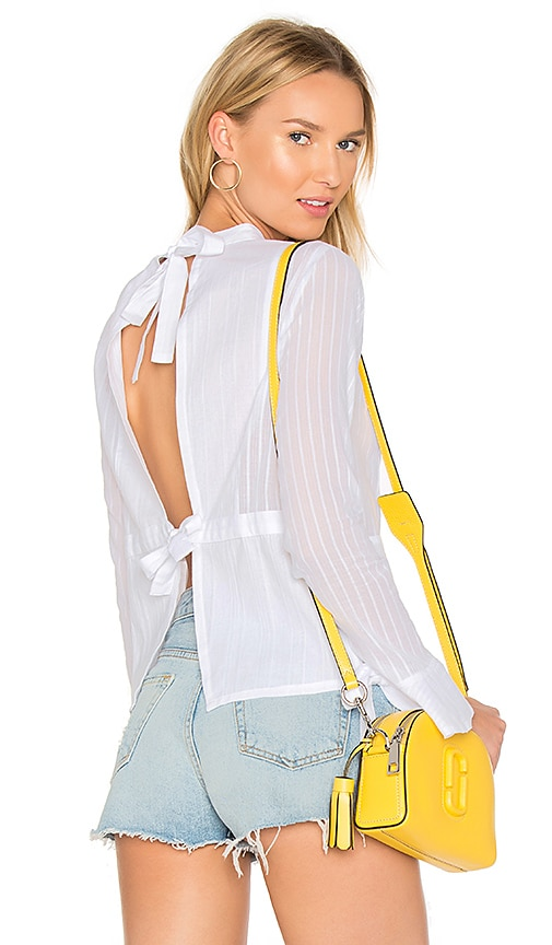 SIR the label Alessa Blouse in White