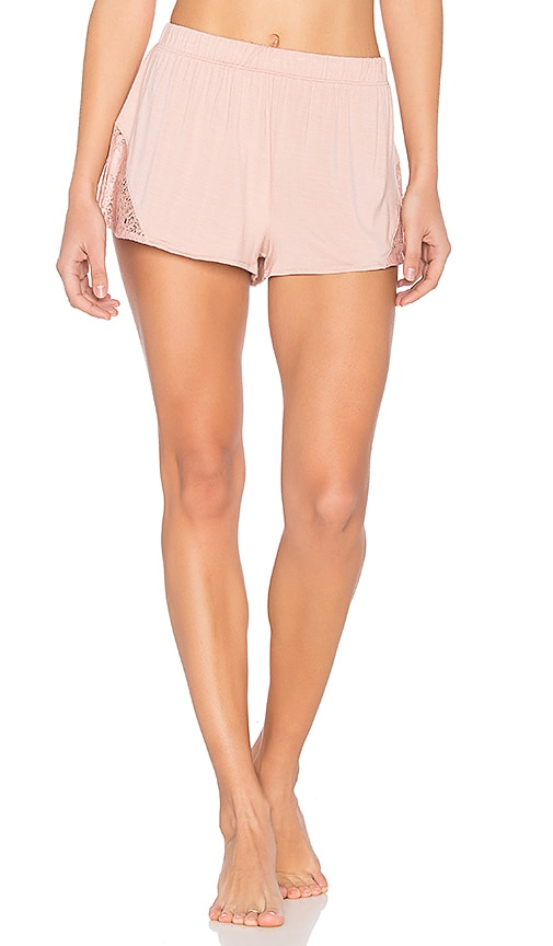 Skin Lace Shorts in Pink