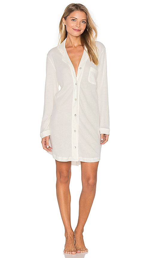 Skin Lofty Sleep Dress in White