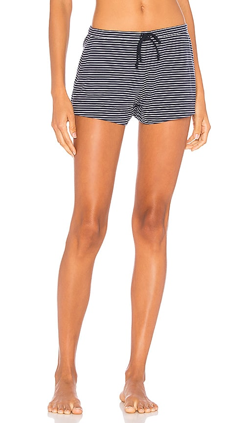 Skin Shorts in Blue