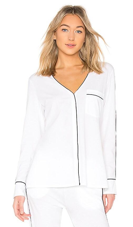 Skin Odessa PJ Top in White