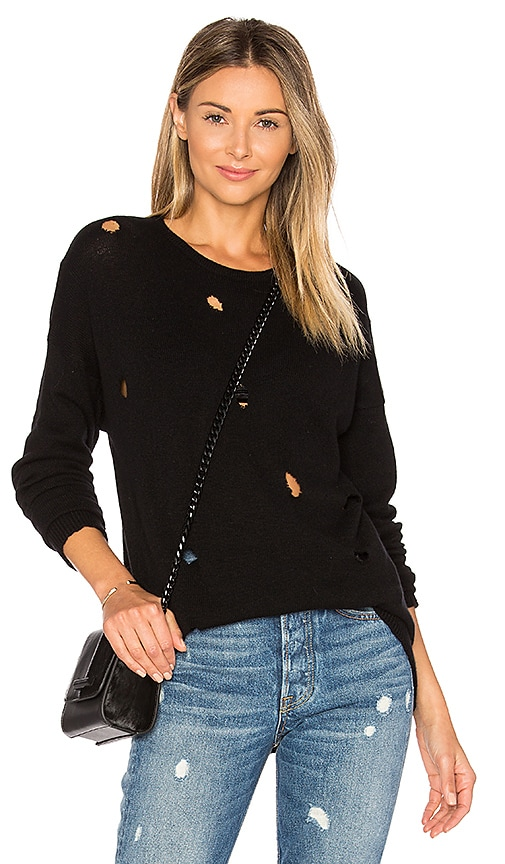 susanne karlsson Ricki Cashmere Sweater in Black