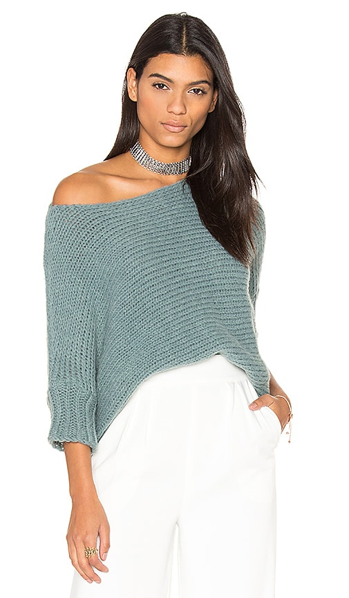 susanne karlsson Anna Chunky Sweater in Slate