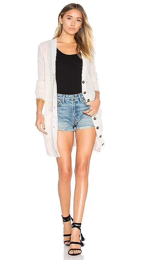 susanne karlsson Ulrika Boyfriend Cardigan in Cream