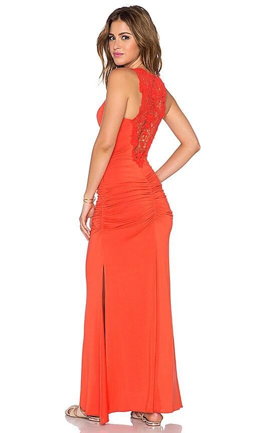 sky Roethke Dress in Coral