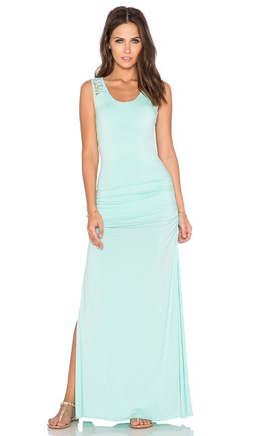 sky Mei Maxi Dress in Mint