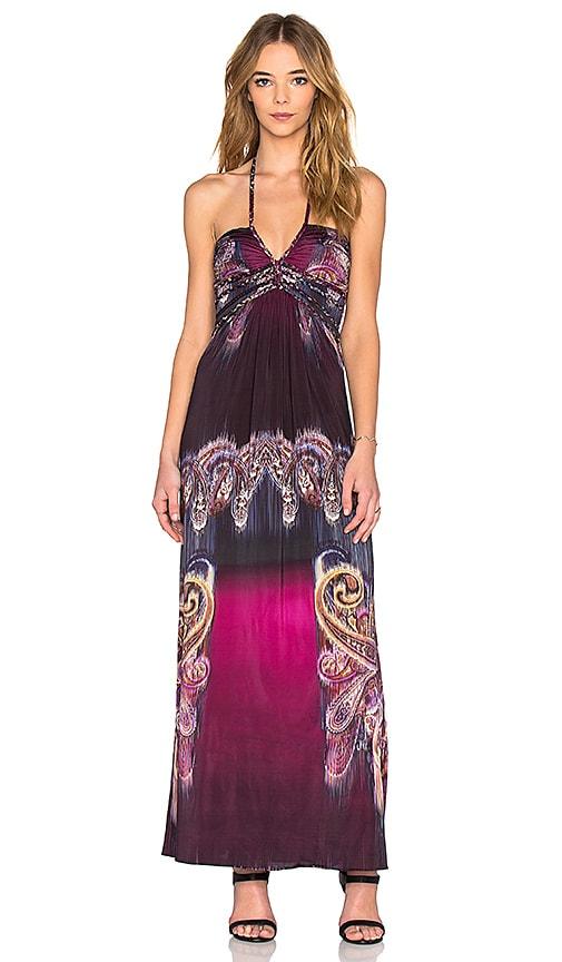 sky Ragny Dress in Magenta