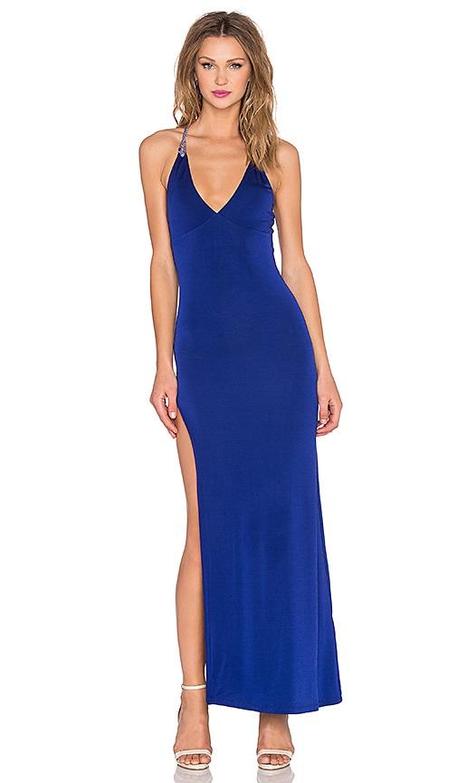 sky Soren Dress in Blue