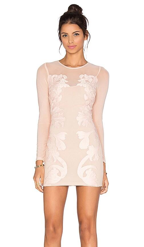 sky Kirsi Dress in Blush