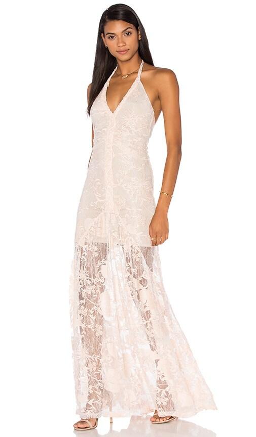sky Trenton Dress in Blush