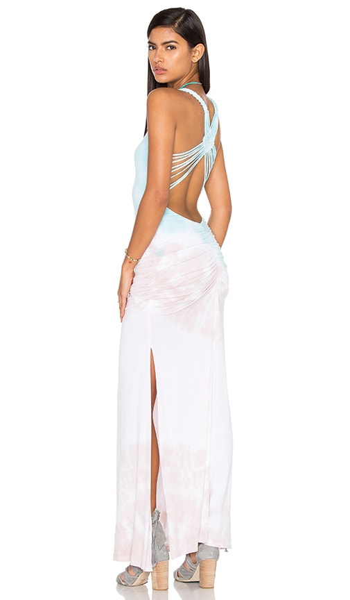 sky Rosanna Dress in Aqua