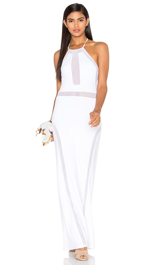 sky Pontus Dress in White