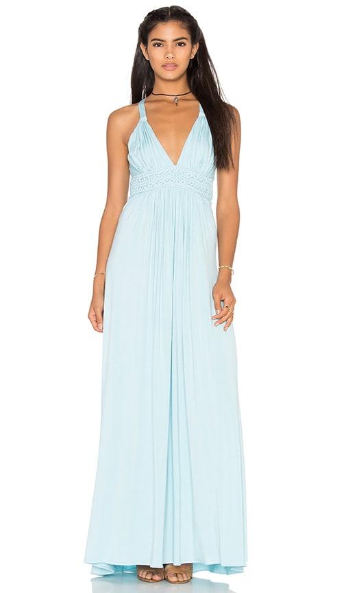 sky Topangga Dress in Baby Blue