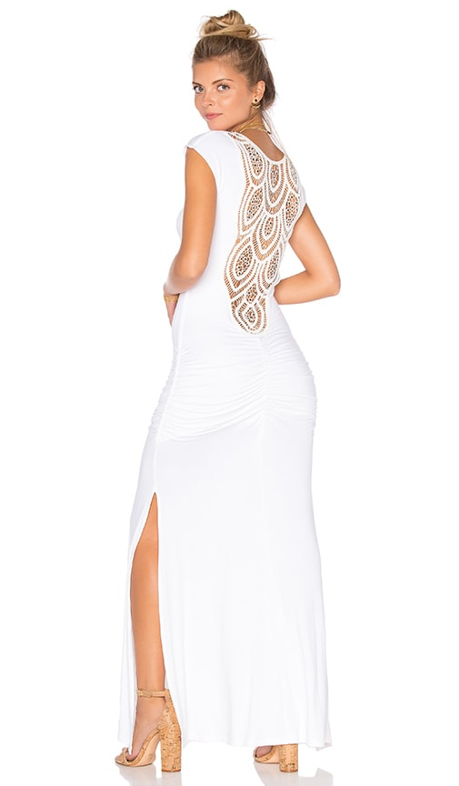 sky Talente Dress in White