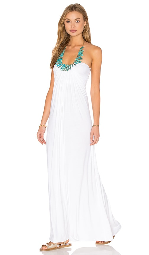 sky Quintana Dress in White