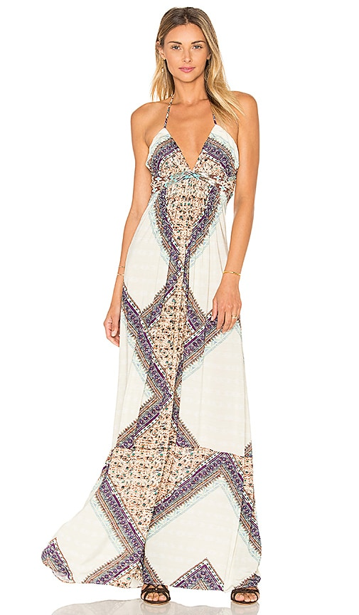 sky Waerheall Maxi Dress in Ivory