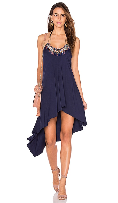 sky Palmiro Dress in Navy