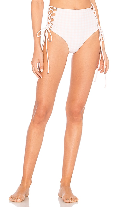 SKYE & STAGHORN LACE UP BIKINI BOTTOM