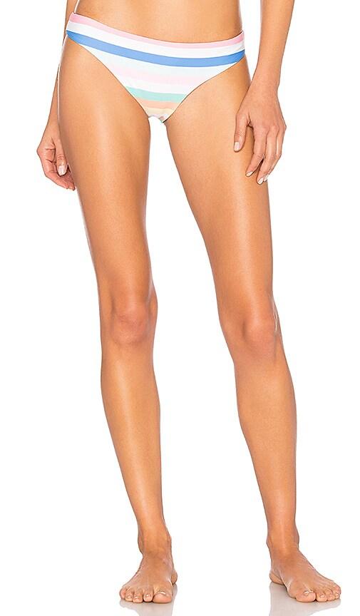 SKYE & STAGHORN Basic Bikini Bottom in White