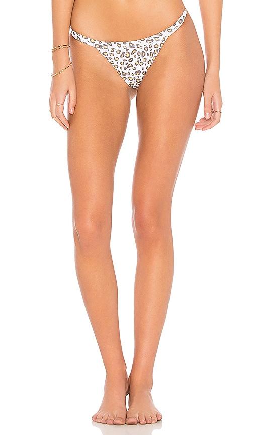SKYE & STAGHORN Siren Bikini Bottom in Brown