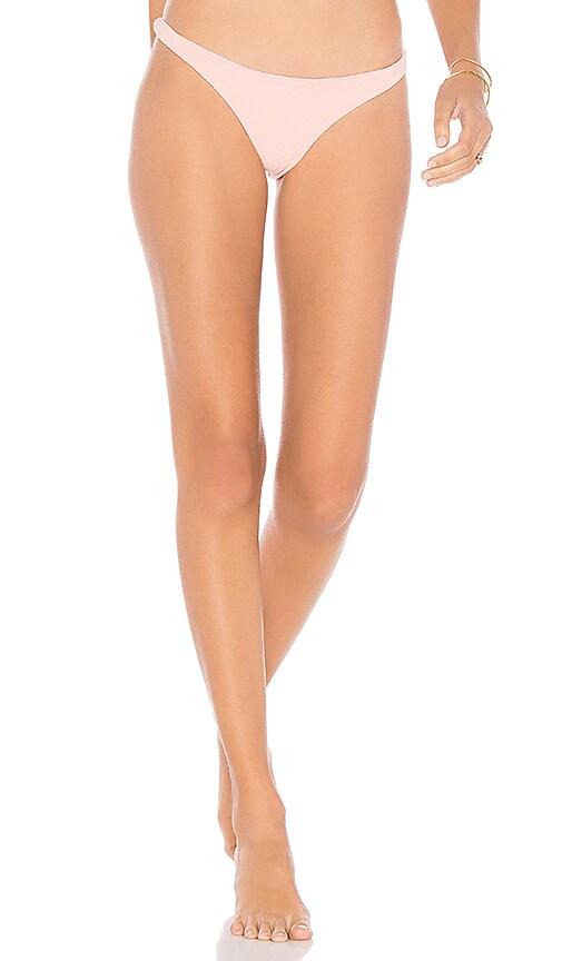 SKYE & staghorn Basic Pant Bikini Bottom in Pink