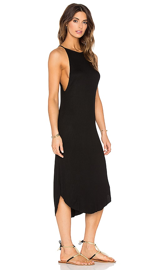 SKYE & staghorn Bisa Maxi Dress in Black