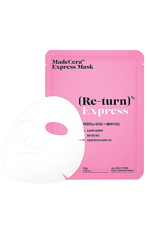 SKINRX LAB MADECERA RE-TURN EXPRESS BOX MASK 5 PACK