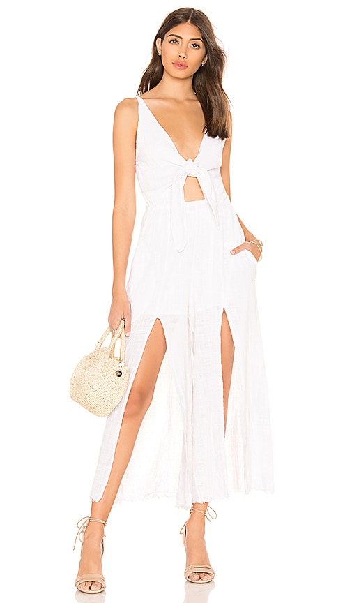 Somedays Lovin Lucid Dreaming Jumpsuit in White