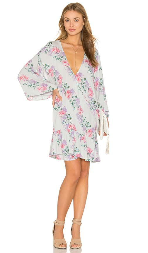 Somedays Lovin Joanie Kimono Dress in Gray