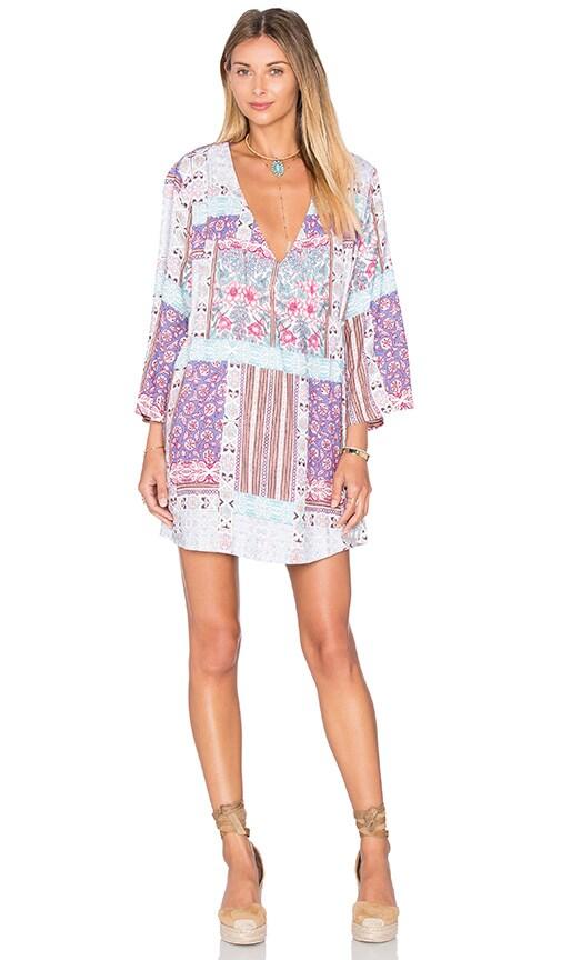 Somedays Lovin Skylight Cape Dress in Purple