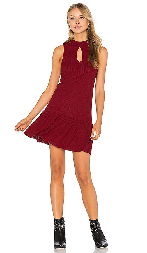 Somedays Lovin West Virginia Dress in Burgundy