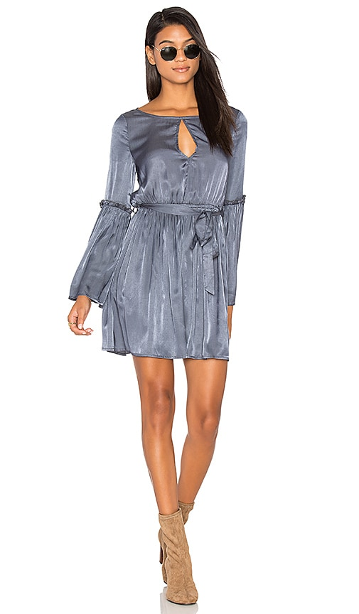 Somedays Lovin Midnight Hour Dress in Gray