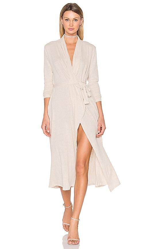 Somedays Lovin Laneway Cardigan Dress in Beige