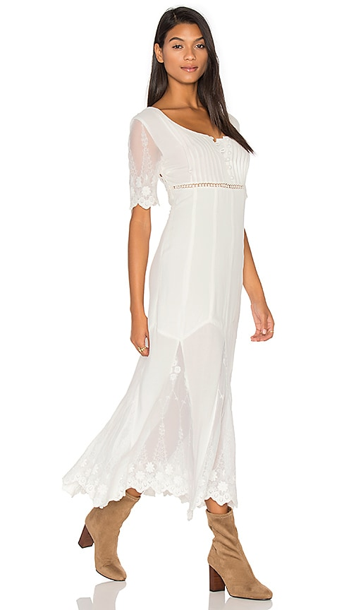 Somedays Lovin Marlowe Maxi Dress in White