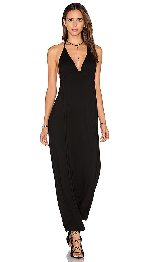 Somedays Lovin By the Bay Knotted Dress in Black
