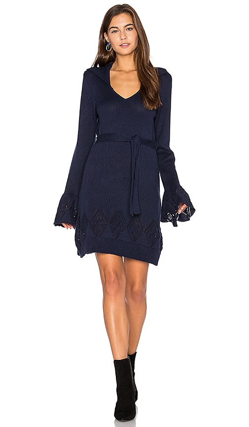 Somedays Lovin Night Walk Dress in Blue