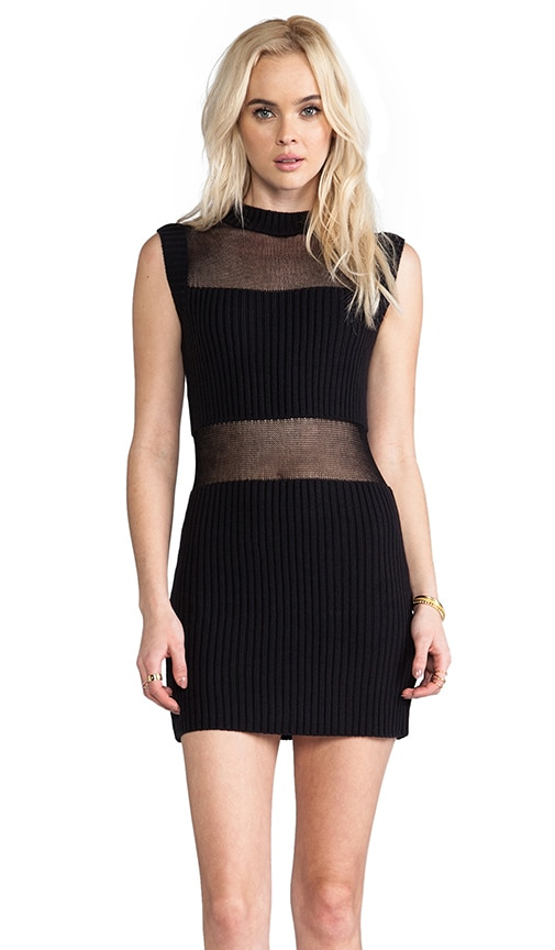 Parallels Block Knit Dress