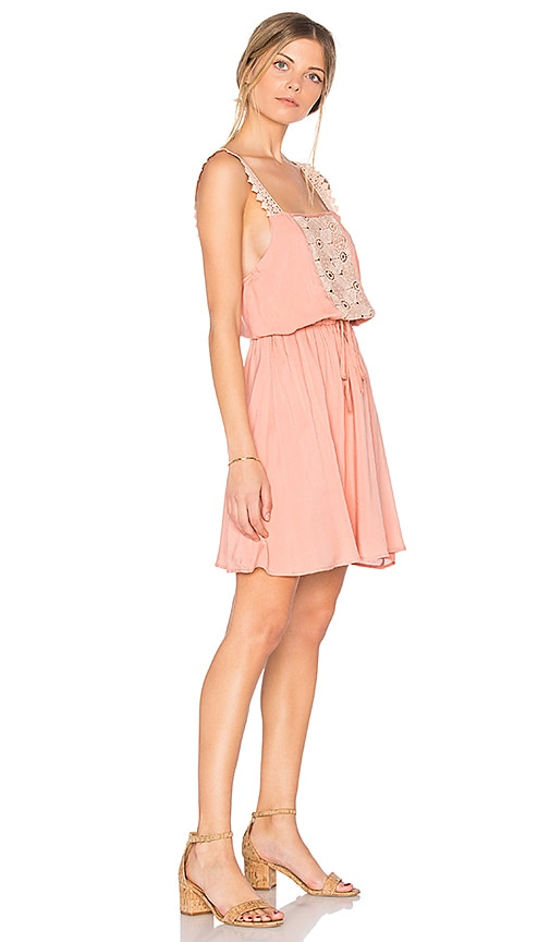 Somedays Lovin Sun Beams and Daydreams Dress in Peach